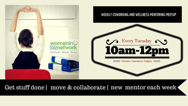 coworking and wellness meetup