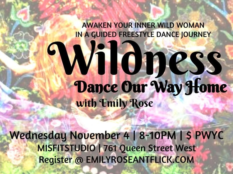 Wildness DOWH Session flyer (2)